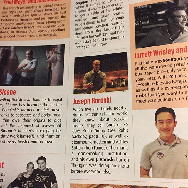 Thank you @bkmagazine for listing me as one of the most important people in food and drink. #bartenderforlife