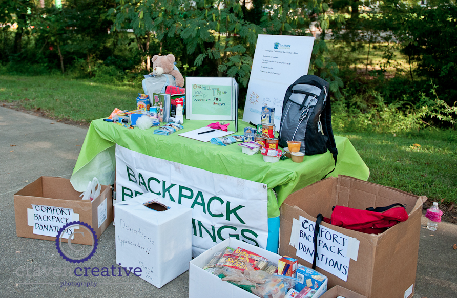 BackPack Beginnings at the 2012 Kirkwood 5K