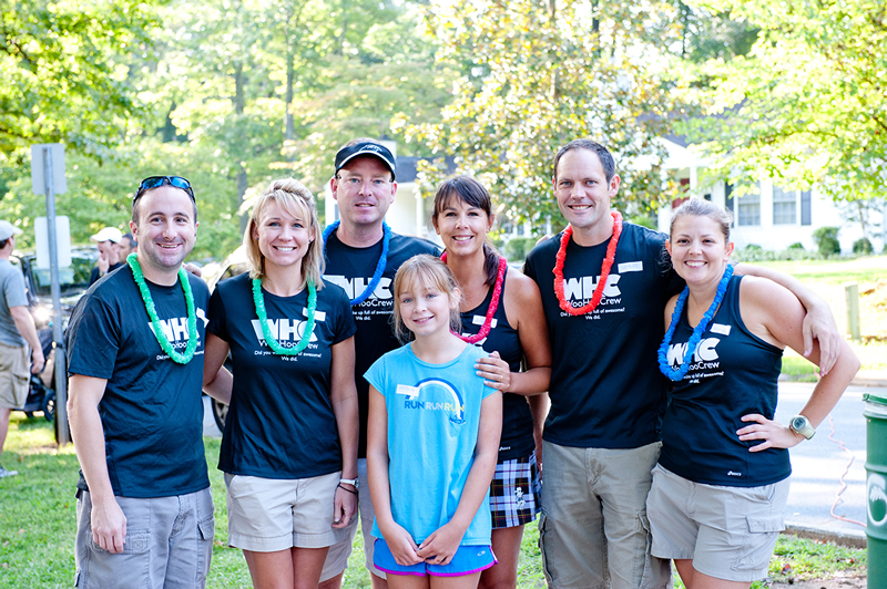 Local running group The Woo Hoo Crew volunteered in 2012. You should too!
