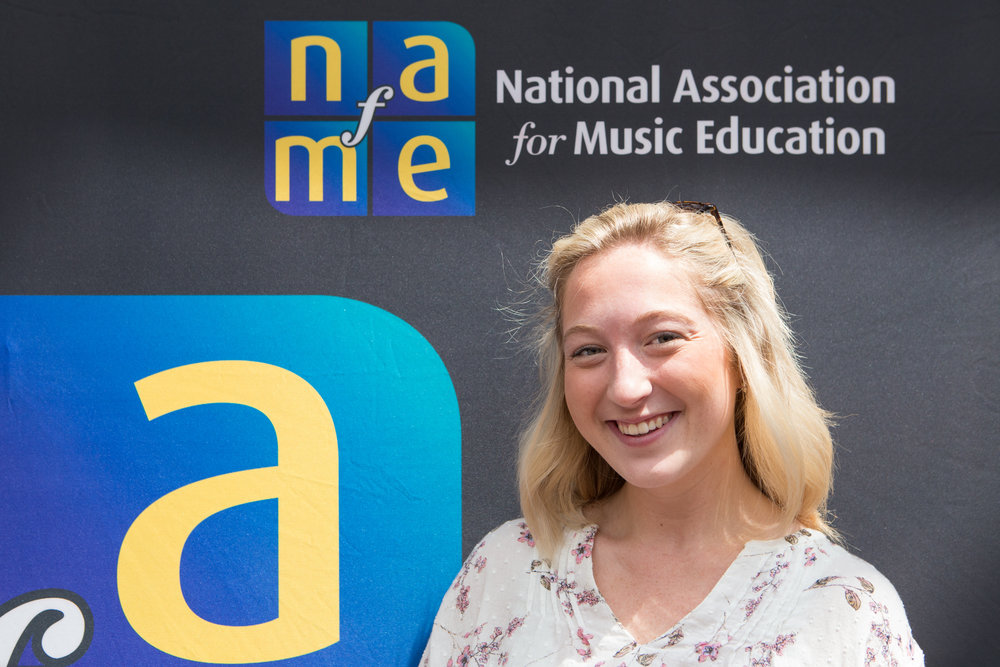 Adrianna Korey, UD class of 2017; Collegiate NAfME Chapter PR Chair