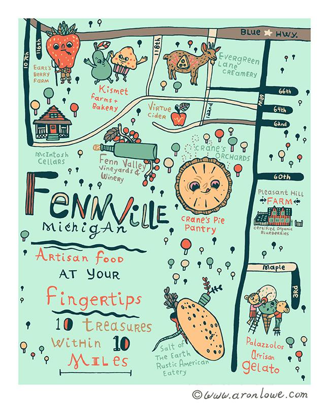 Fennville Foodie Map