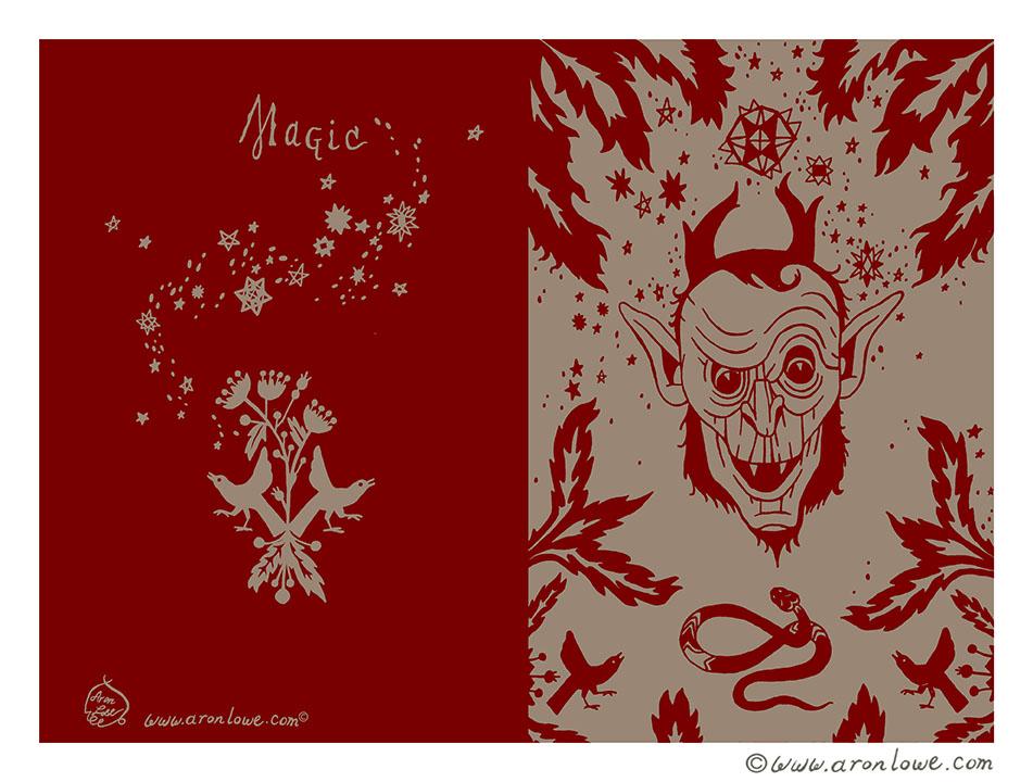 Magic Journal Design
