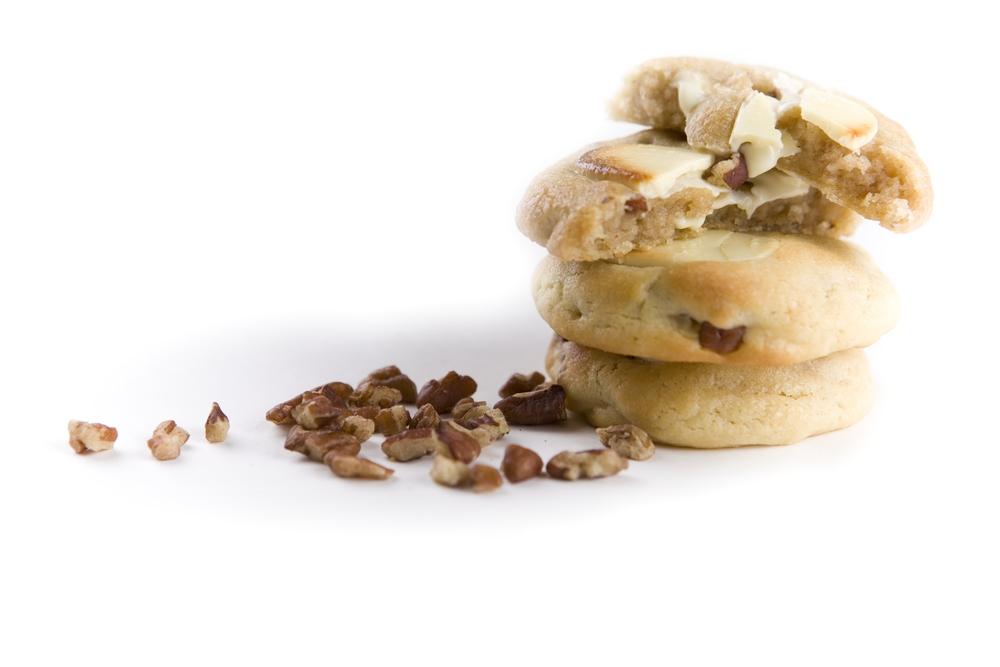 Cookie frais au Chocolat Blanc et noix de Pécans