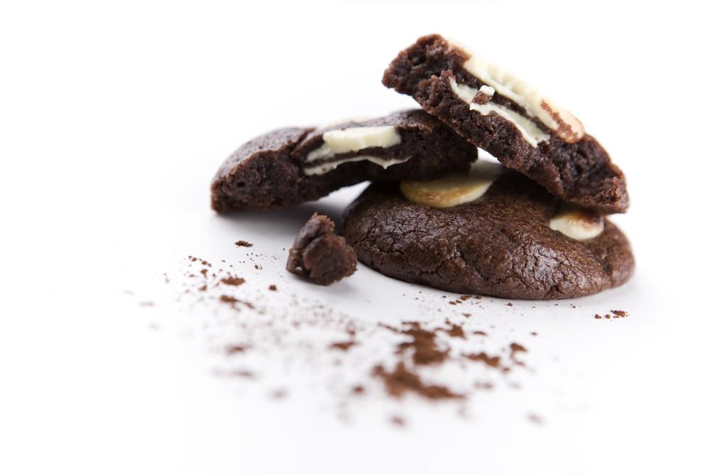 Cookie Tout-Chocolat au Chocolat Blanc