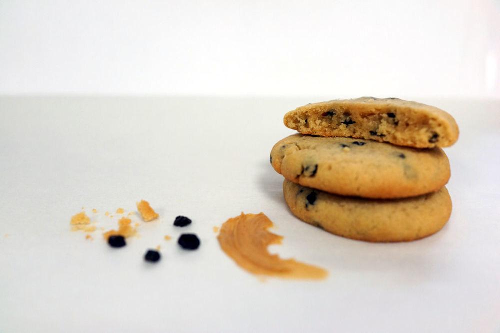 Cookies Peanut Butter et Raisins de Corinthe