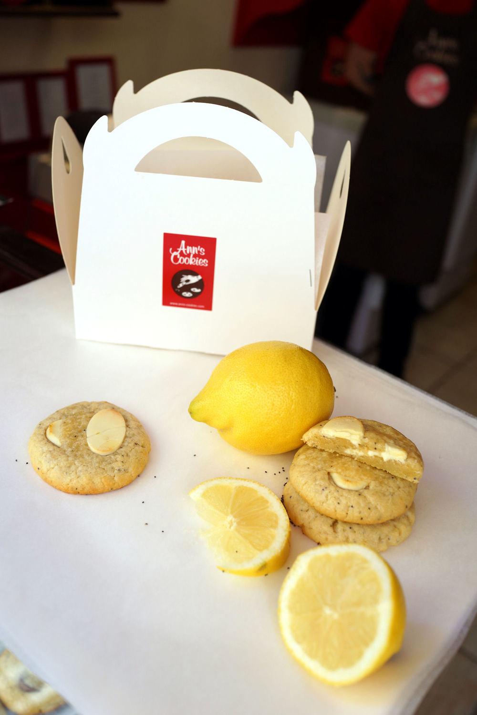 Cookies Citron Pavot Bleu & Chocolat Blanc