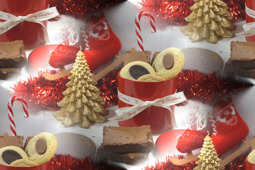 Boîtes Cadeaux de Noël - en métal ou carton - avec ruban Merry Christmas