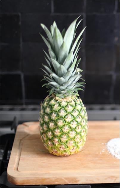 Inspiration cookie de l'été 2016 - ananas