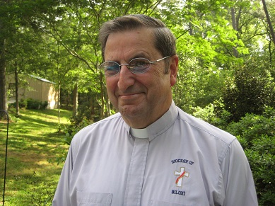 Deacon Rich Hollingsworth (Permanent Diaconate). Converted to Catholicism in 1984 from the Presbyterian faith. Ordained July 6th, 2002 by Bishop Thomas Rodi at the Nativity of the Blessed Virgin Mary Cathedral, Biloxi, Mississippi.