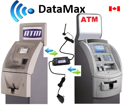 DataMax Direct Connection Wireless ATM Solutions