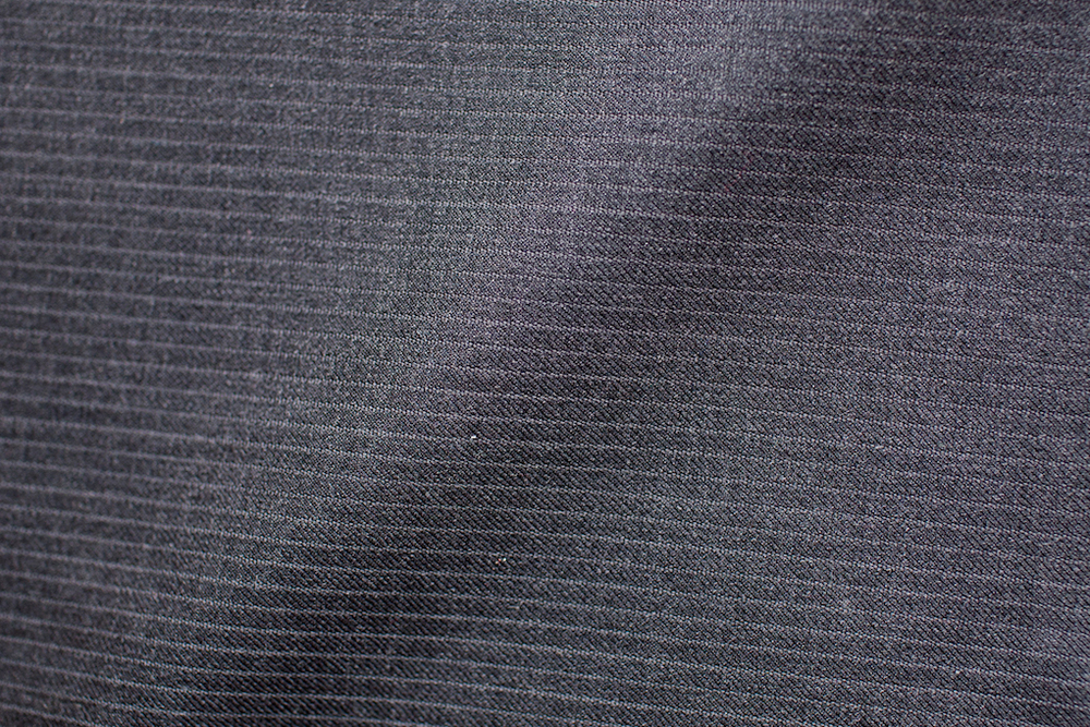 Dark Grey Narrow Pinstripe