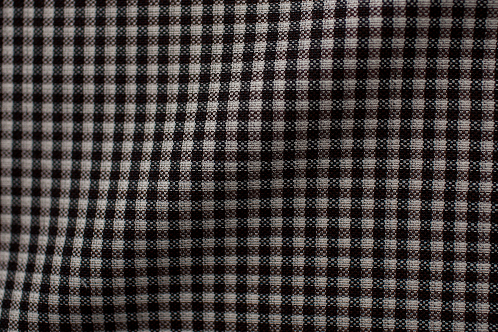 Brown Gingham Tweed
