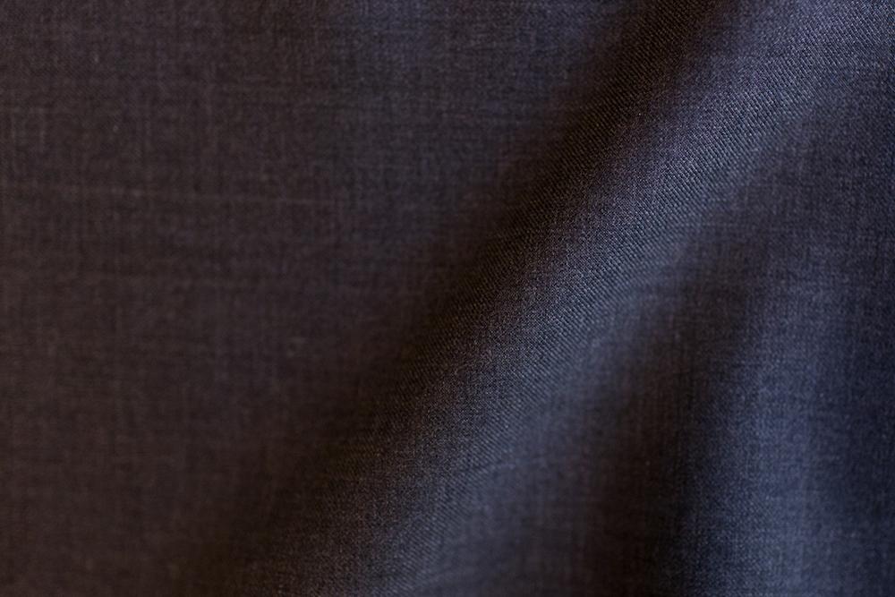 Brown Windowpane Herringbone Tweed