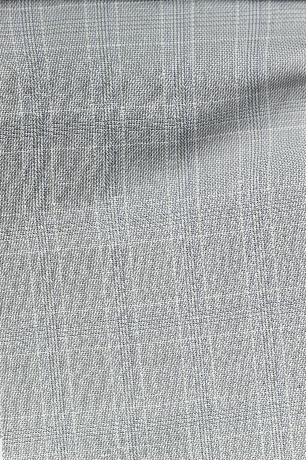 L118 Grey Checked Cotton Twill.JPG
