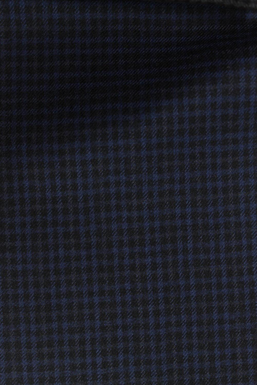 7383 Blue Black Microcheck Tweed 320g.JPG