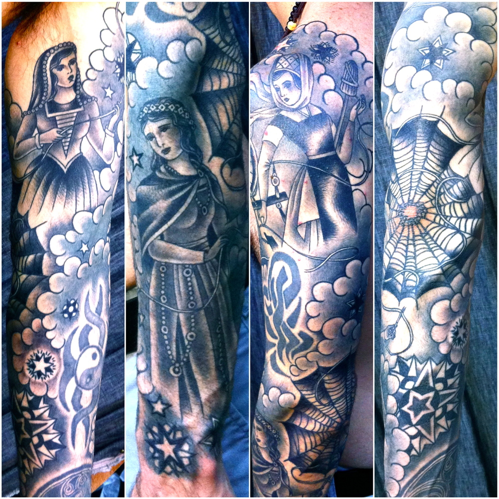 Tattoo by Virginia Elwood