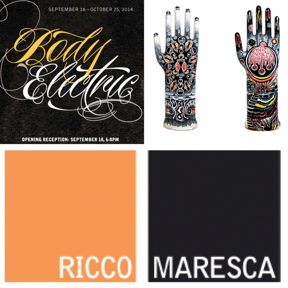 "So stoked to be one of the artists featured in the Ricco Maresca group exhibition ""Body Electric"" guest curated by Margot Mifflin. Opening celebration is tonight from 6-8 pm at Ricco Maresca Gallery 529 W 20th st NY NY. Full press release can be found here: http://www.riccomaresca.com/press_releases/body-electric-2014.html"