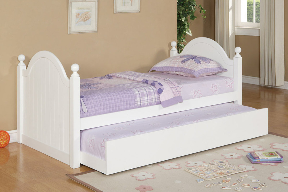 PX9057 Twin Bed w/ Trundle