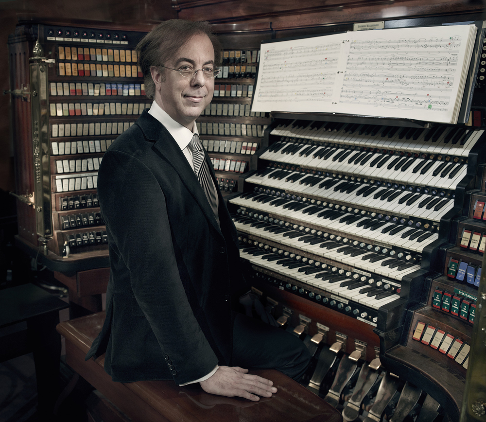 Grand Court Organist Peter Richard Conte.