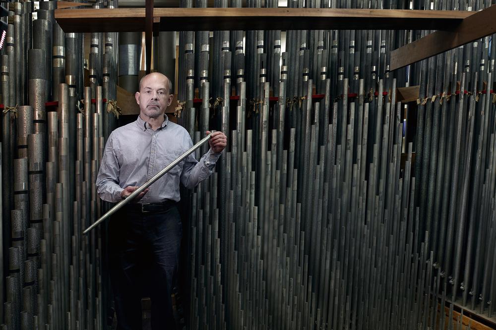 Curator of Organs L. Curt Mangel III.