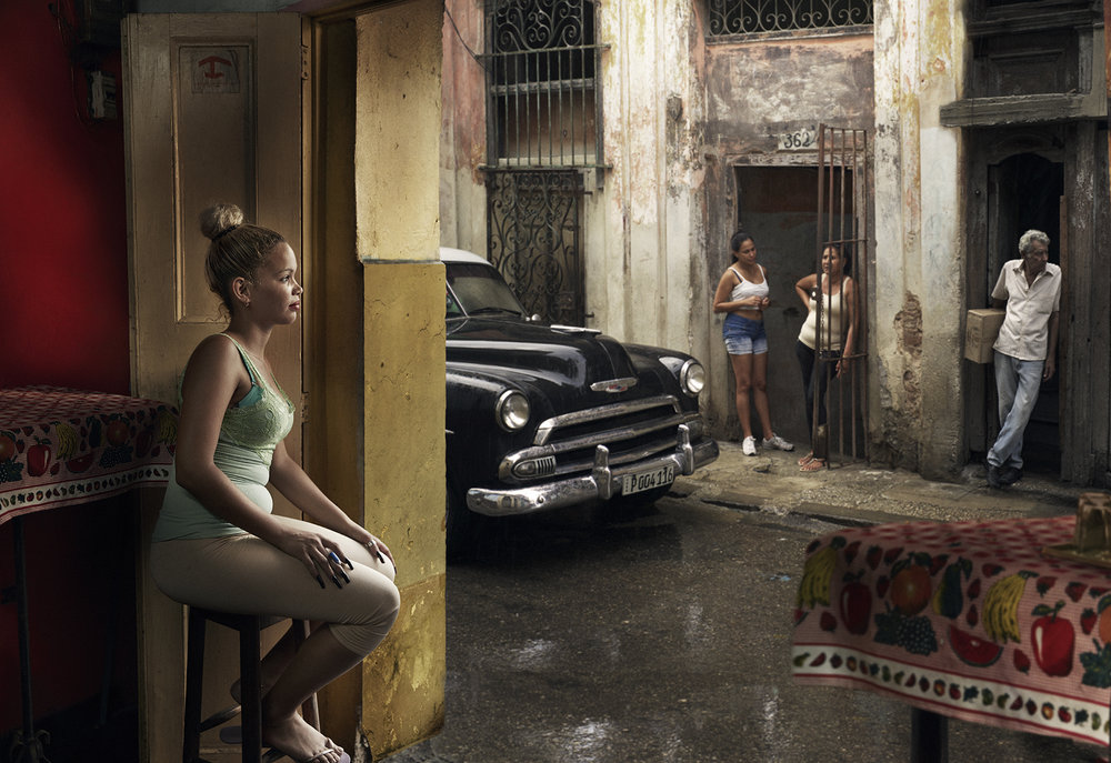 When Cuba started to open their borders, my creative partner and wife Anne insisted that we go there and capture the real, still unspoiled Havana before it moves to a new era.