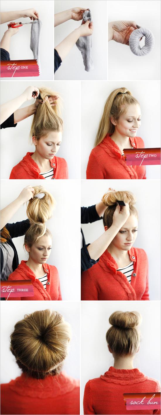 diy sock bun tutorial 1011 tutorial diy sock bun 10 11 makeup