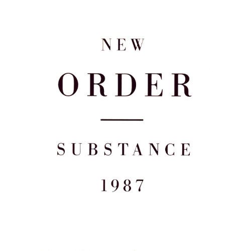 New Order 'Substance' 1987