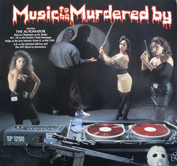 Automator 'Music to Be Murdered By' 1989
