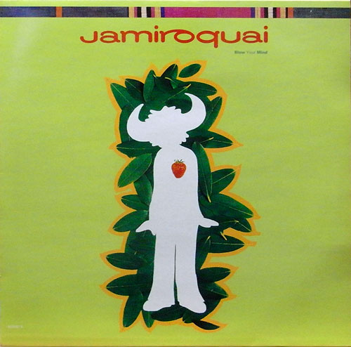 "Jamiroquai 'Blow Your Mind (12"")' 1993"