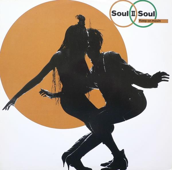 "Soul II Soul 'Keep on Movin (12"")' 1989"