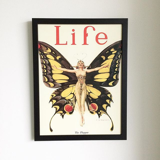 • Channeling my inner #JackTripper with this glorious #Life print.