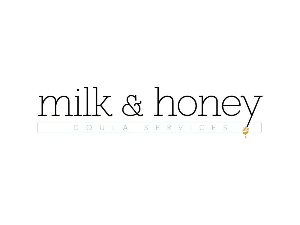 milkandhoneyservices.com    branding, website