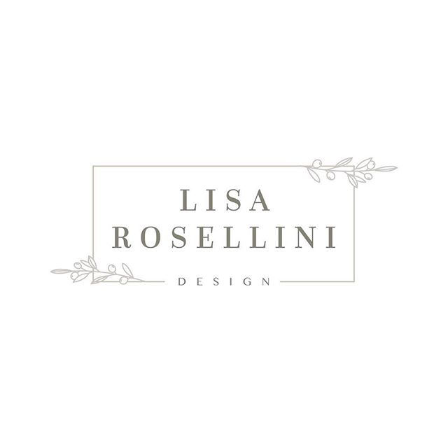 A recent logo designer for one of the sweetest clients I've ever had! Her website is coming next 🌿 #alimooneydesign