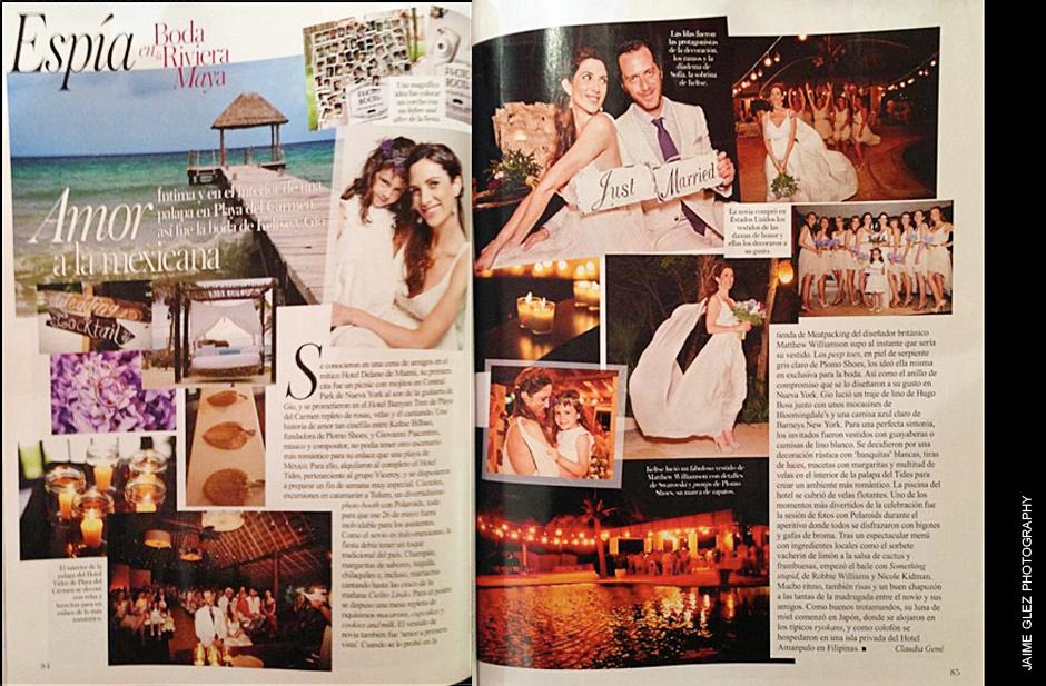 Vogue magazine features Jaime Glez photography.