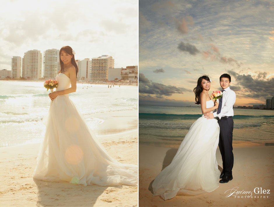 trash the dress photography in cancun 8