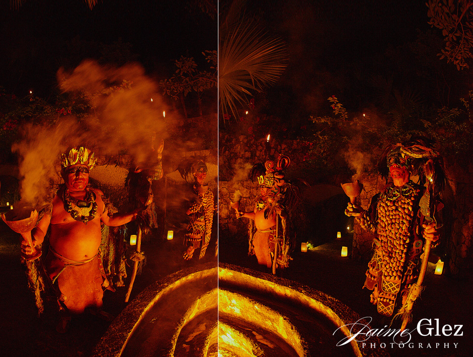 And then comes the mayan ceremony...