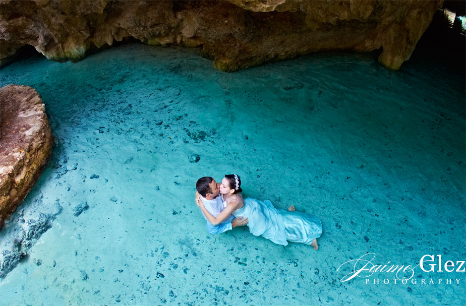 trash the dress cenote tulum 4