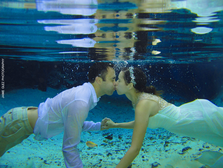 trash the dress cenote tulum 7