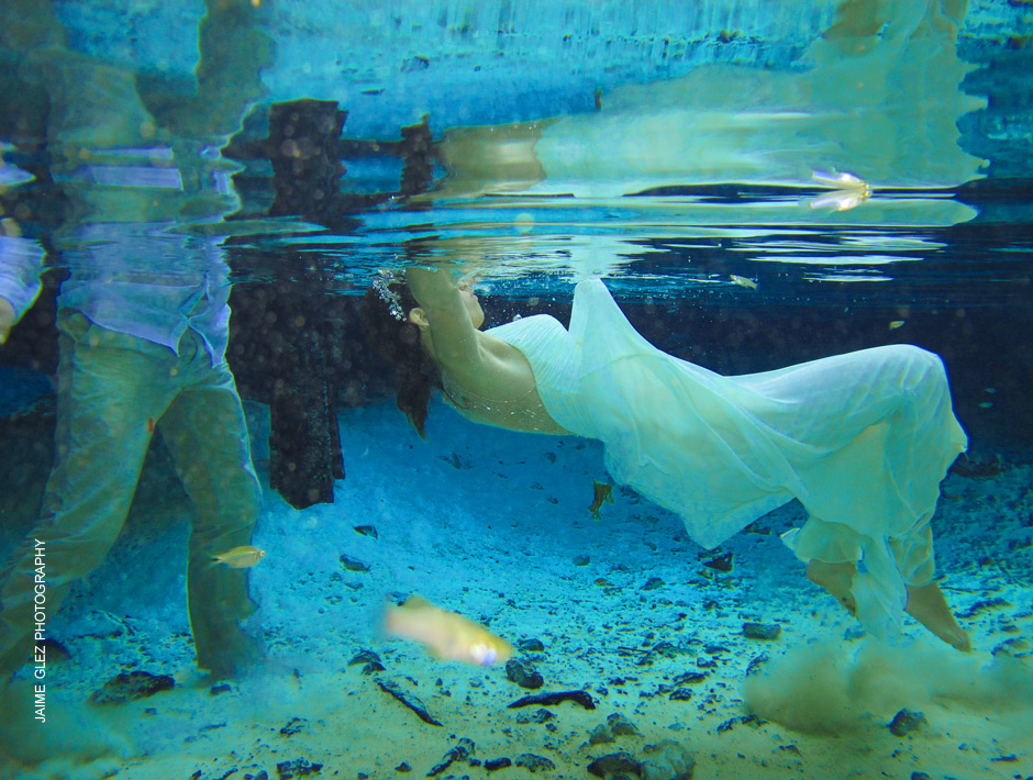 trash the dress cenote tulum 9