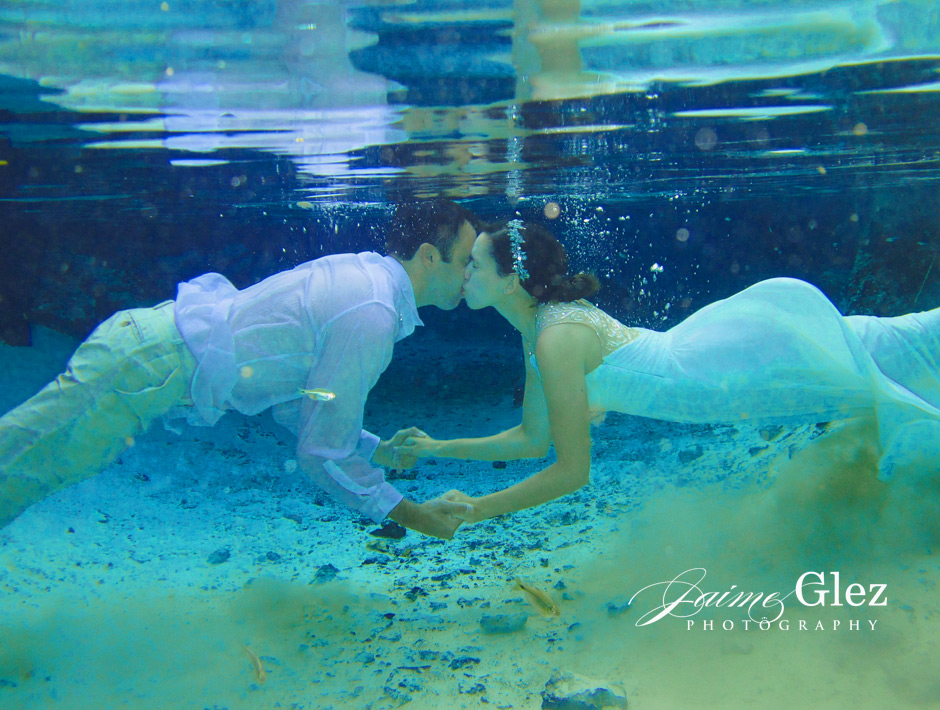 trash the dress cenote tulum 8