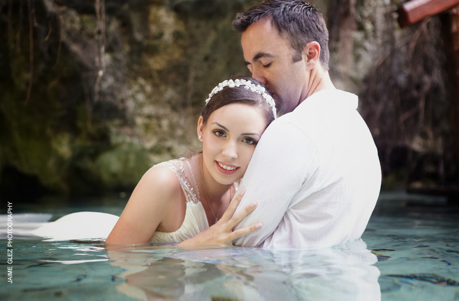 trash the dress cenote tulum 12