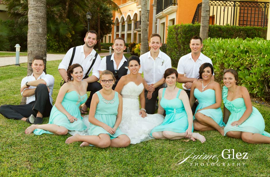ocean coral and turquesa wedding 15