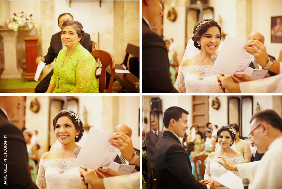 Moments to say to eachother their sweet vows.