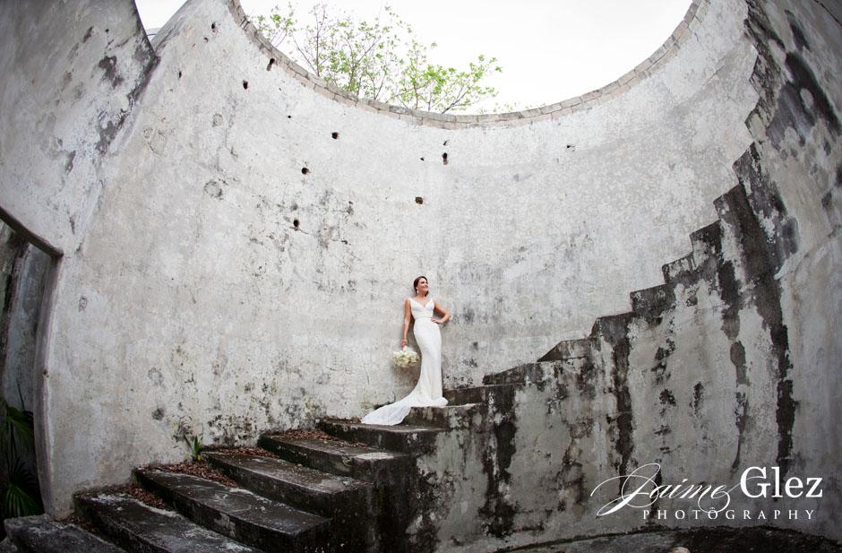 secrets maroma beach wedding 14