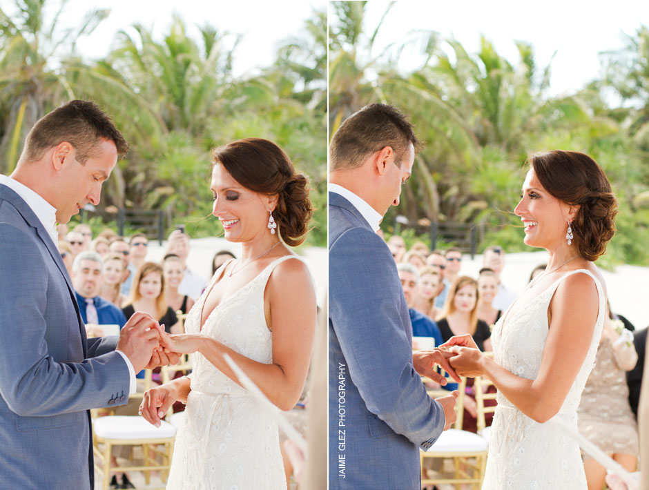 secrets maroma beach wedding 20