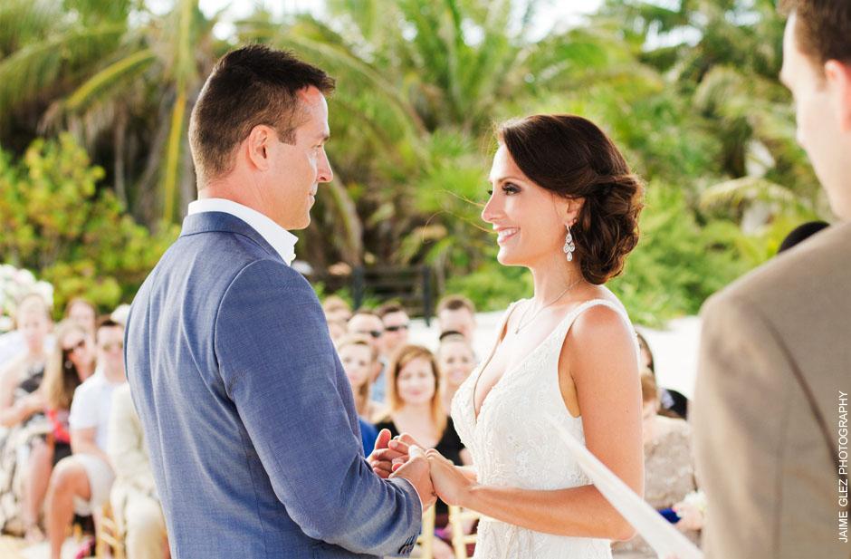 secrets maroma beach wedding 21