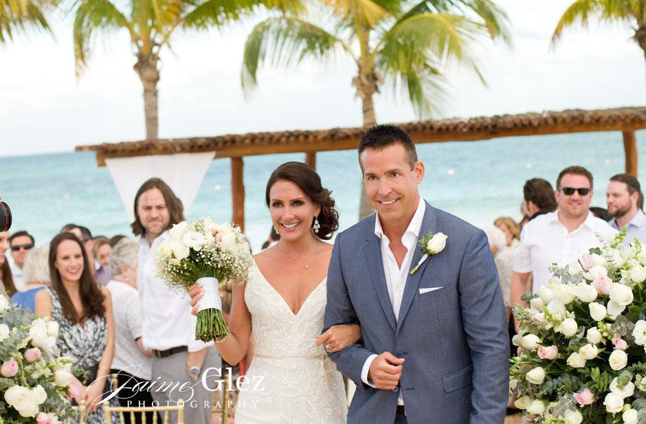 secrets maroma beach wedding 23