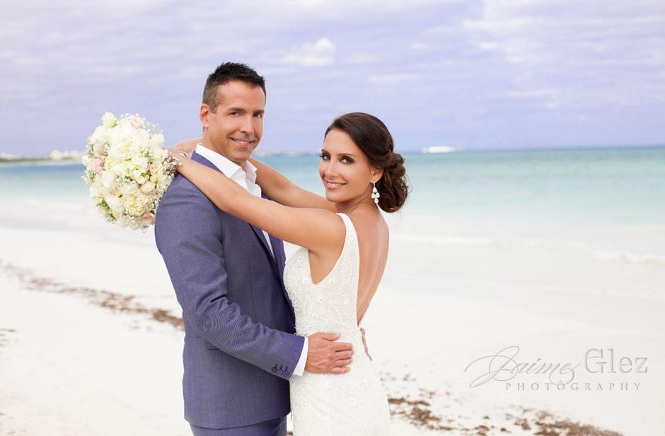 secrets maroma beach wedding 25