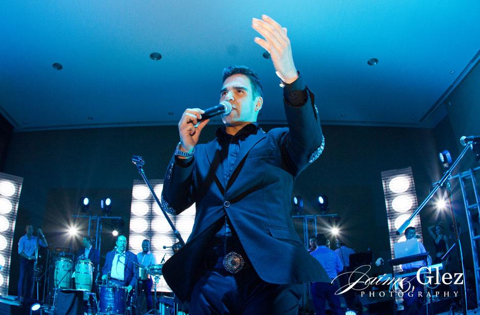 Emir Pabon, cantante de Grupo Cañaveral