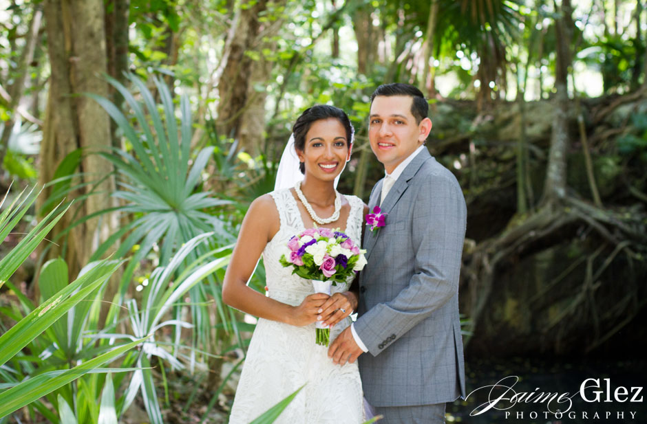 sandos caracol eco resort wedding photos 14